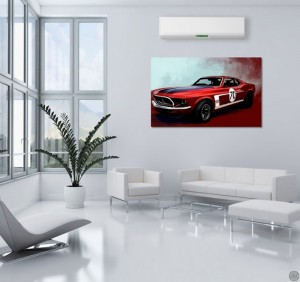 ford-mustang-tableau-deco