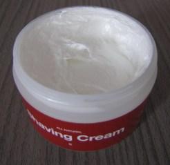 texture crème de rasage razwar