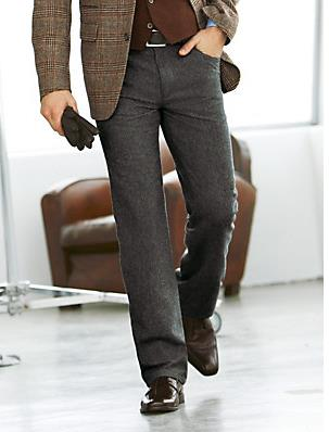 Le pantalon Hiltl – disponible sur l'e-boutique Peter Hahn