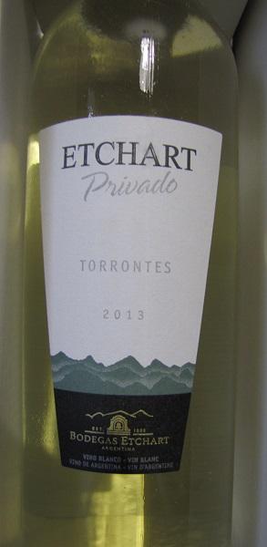 Etchart Privado Torrontès