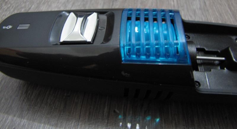 gros plan vacuum remington