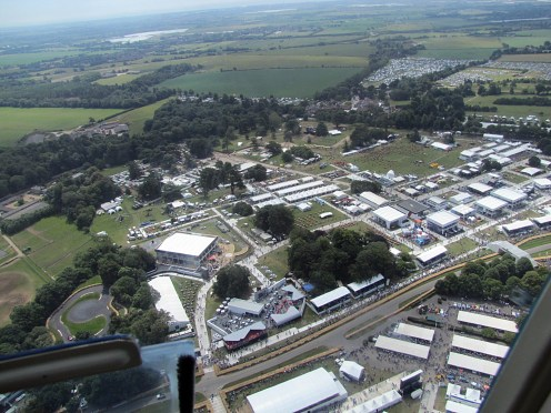 goodwood vu du ciel