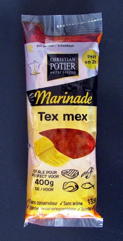 christian potier marinade tex mex - degustabox