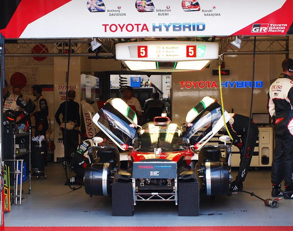 Toyota hybrid 5