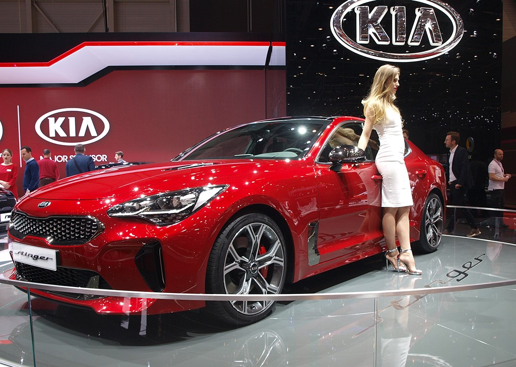 supercars Kia Stinger