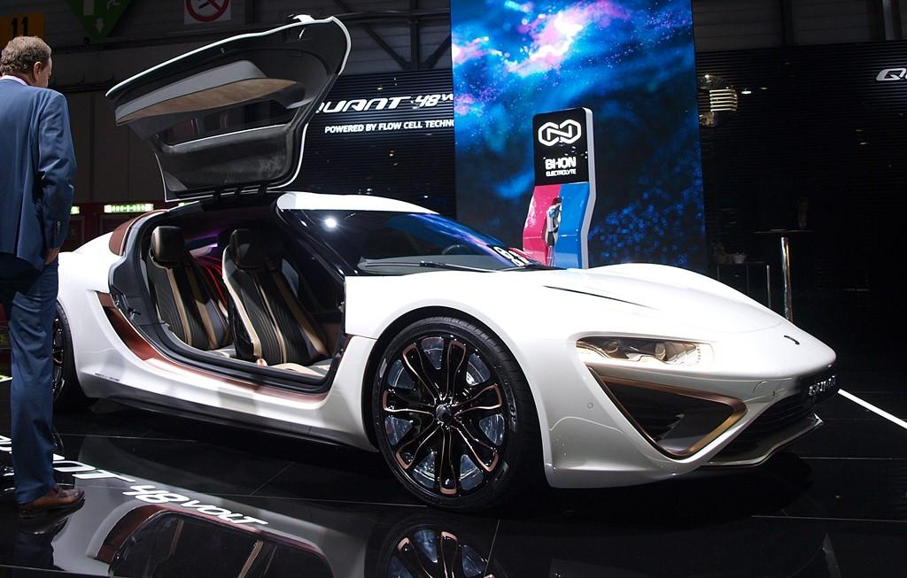 supercars nanoflowcell quant 48volt