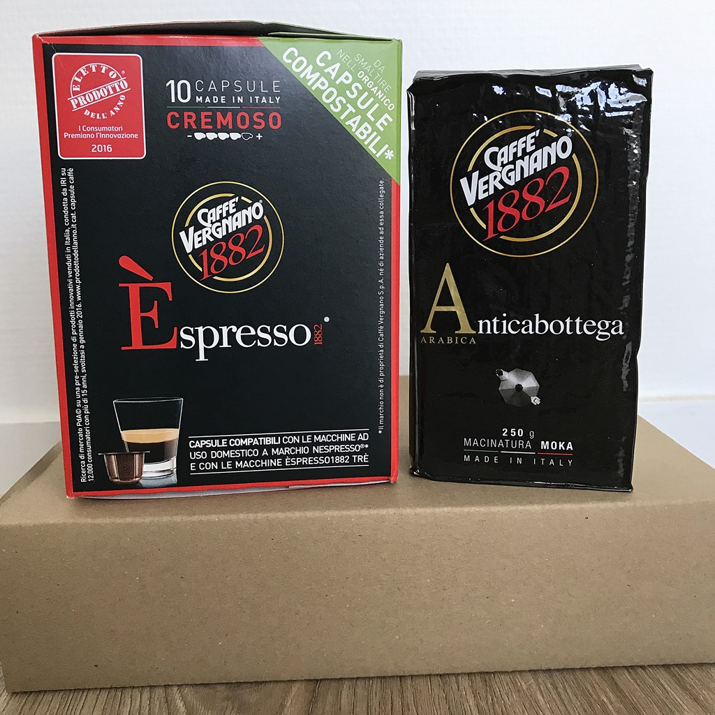 degustabox caffe vergnano