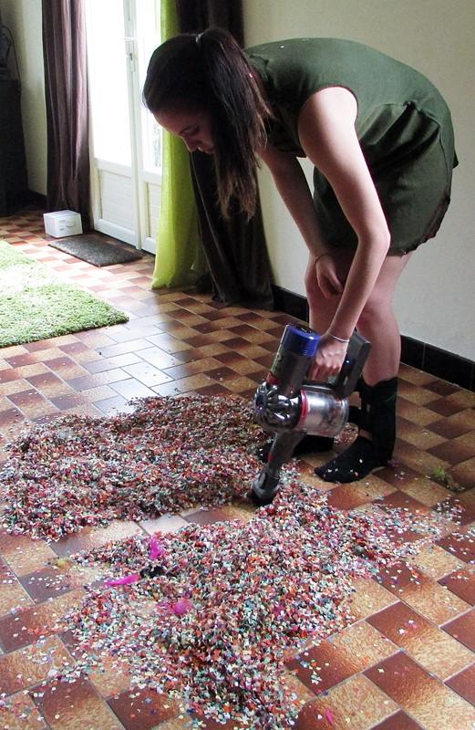 dyson vs confettis
