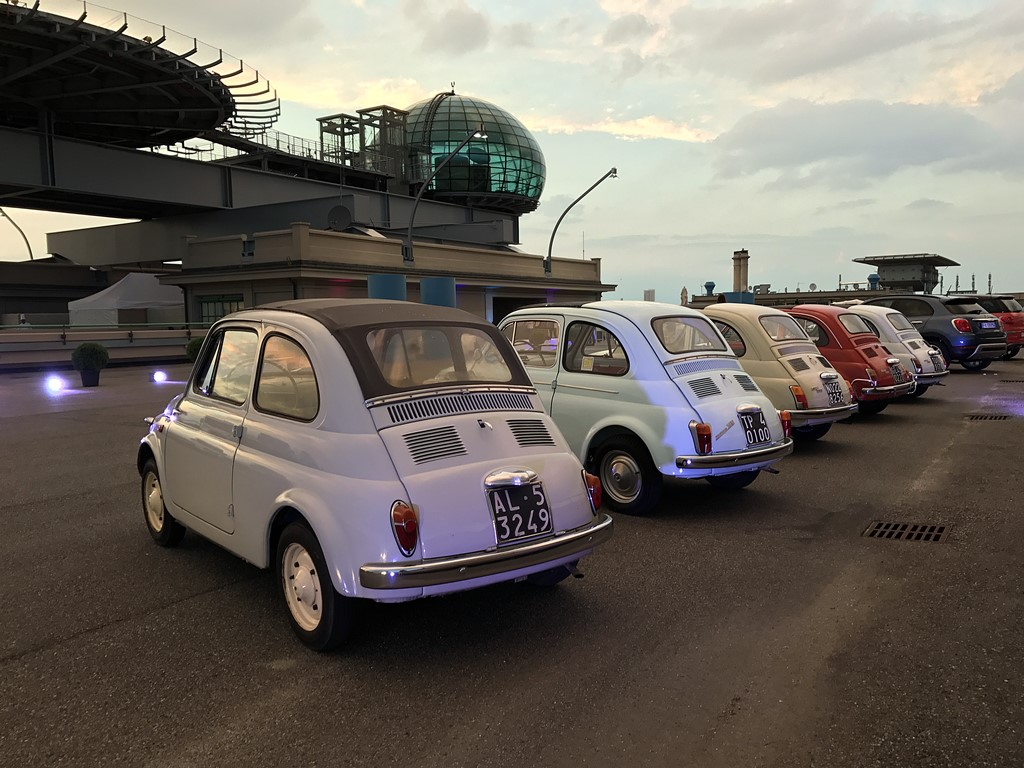 lingotto fiat 500 family