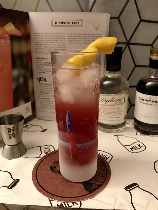 juniport fizz - cocktail box