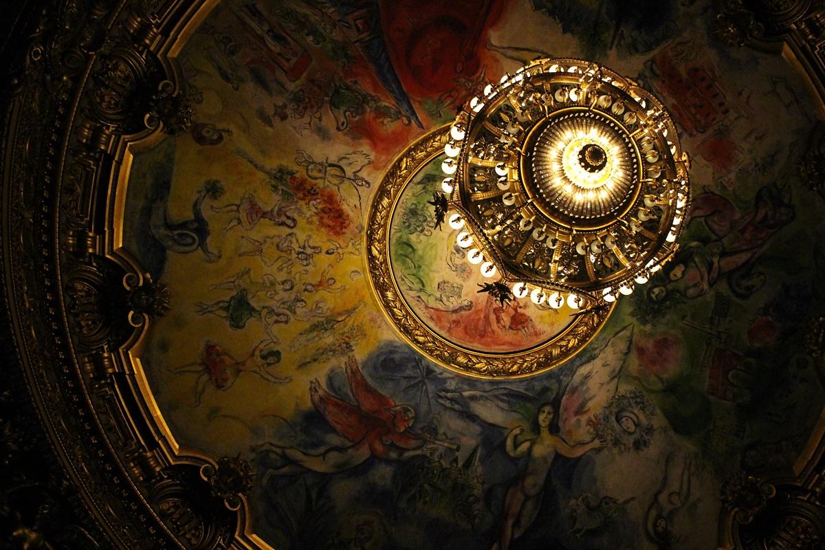 plafond opera garnier Marc Chagall