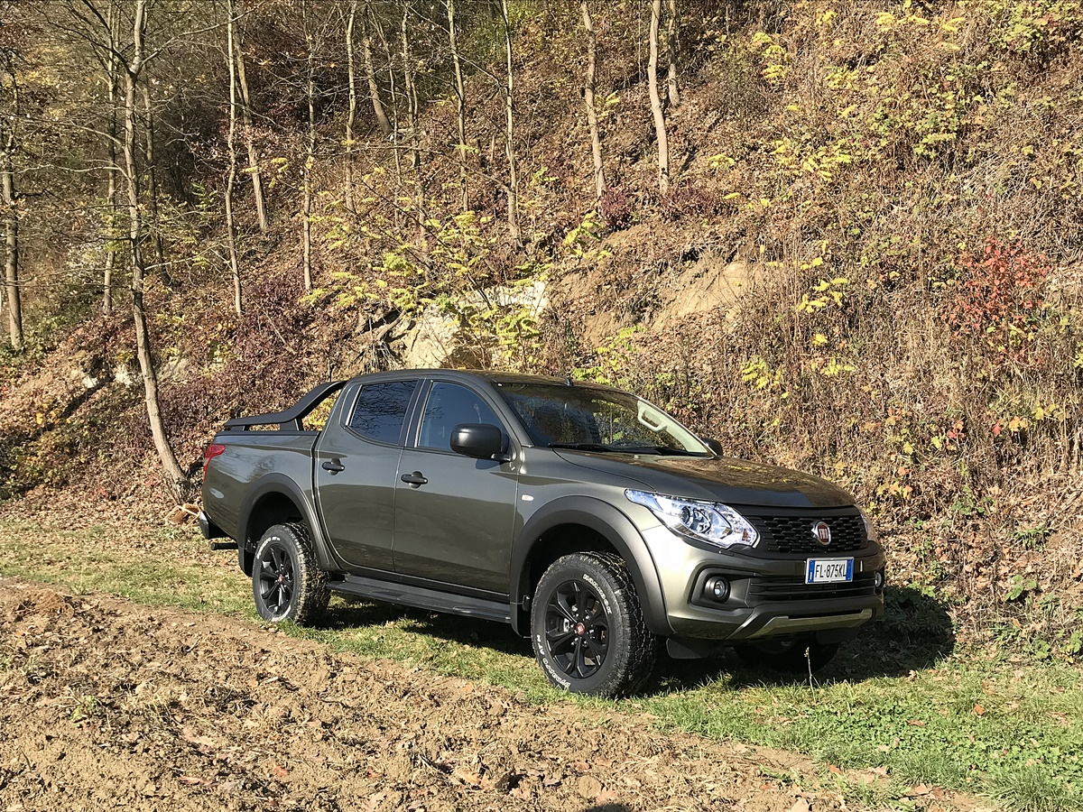 fiat fullback cross essai tout terrain au coeur du piemont. Black Bedroom Furniture Sets. Home Design Ideas