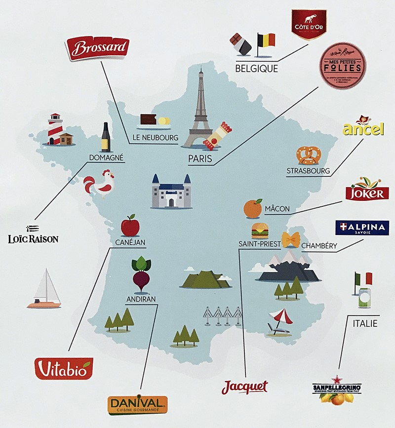 degustabox carte france