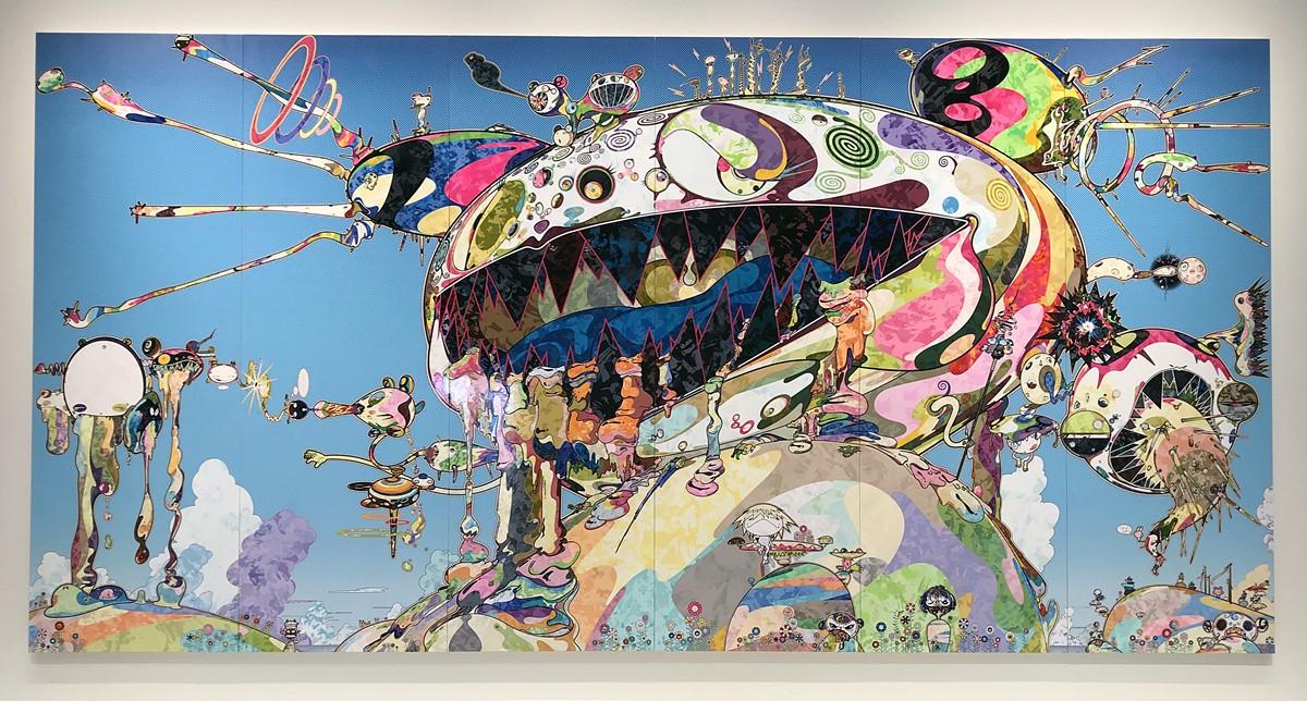 Takashi Murakami - dob vomissant