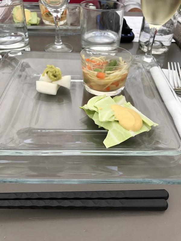 dejeuner dans le potager yamashita