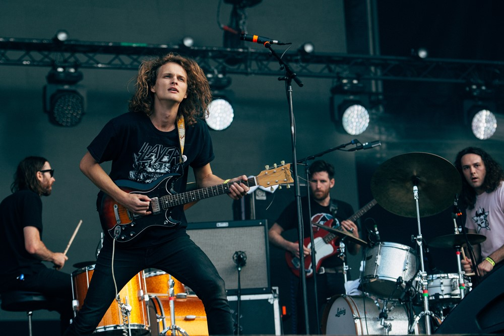 King Gizzard and The Lizard Wizard @ Olivier Hoffschir