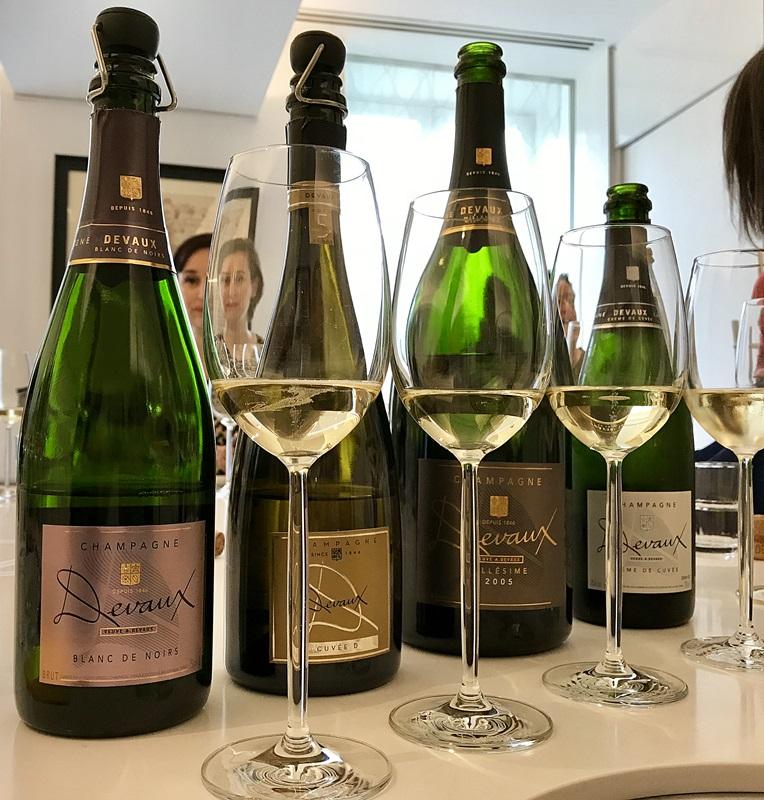 degustation champagne devaux