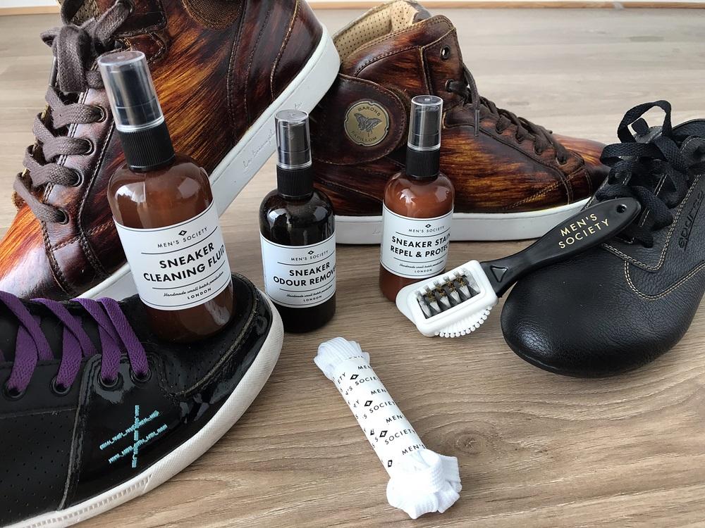 kit nettoyage sneaker men's society