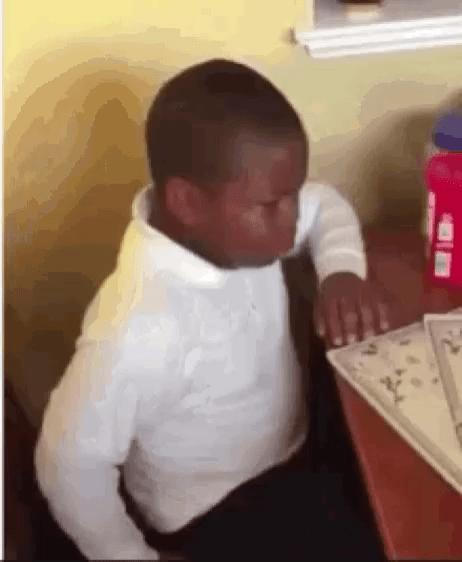 Black Boy Meme : black, Angry, Tenor