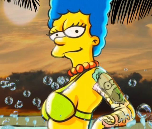 The Simpsons Sexy Marge Gifs Tenor