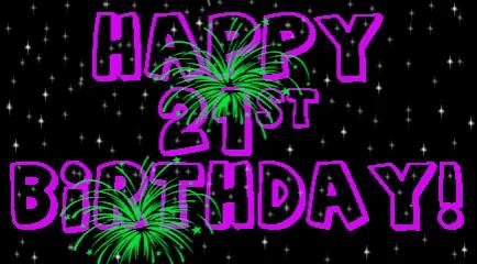 happy 21st birthday gifs