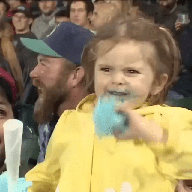 cotton candy girl gifs