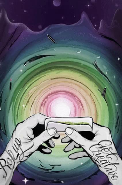 Smoke Trippy Aesthetic : smoke, trippy, aesthetic, Trippy, Smoke, Tenor