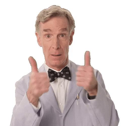 thumbs up bill nye