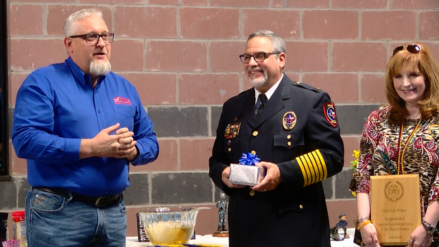 Graham Police Chief career celebrated at retirement party