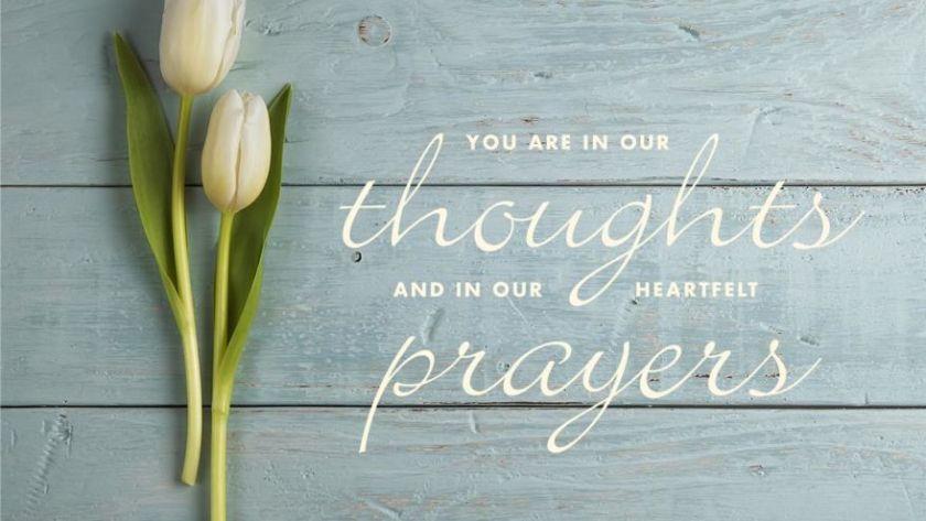 sending healing prayers and comforting hugs