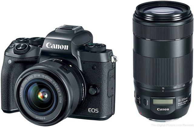 Now Live: Canon EOS M5, EF-M 18-150 IS STM & EF 70-300 IS II USM Preorders