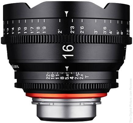 Samyang Introduces XEEN 16mm T2.6 Cinema Lens