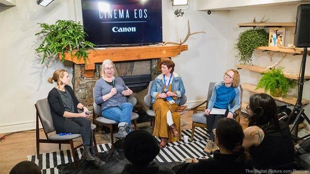 Canon Creative Studio, Sponsors of the 2018 Sundance Film Festival