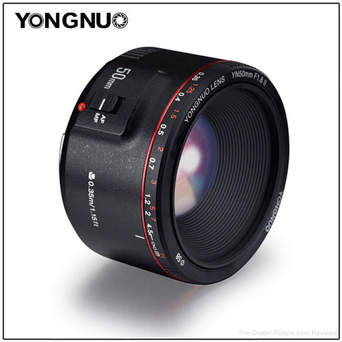 YONGNUO YN50mm F1.8 II Lens