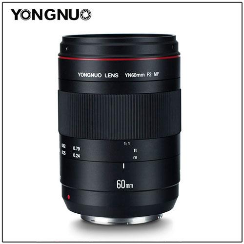 Yongnuo YN60mm f/2 MF Macro Lens