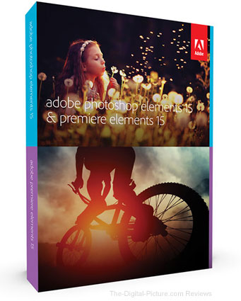 Adobe Photoshop Elements 15 and Premiere Elements 15 (DVD) - $  89.00 Shipped (Reg. $  149.00)
