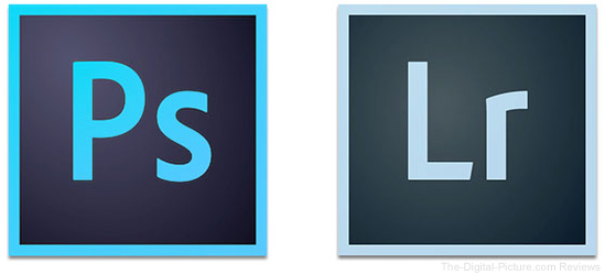 Adobe Photoshop and Lightroom Icons