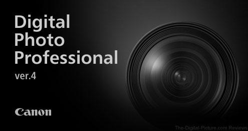 Canon Digital Photo Professional 4 Splash Screen