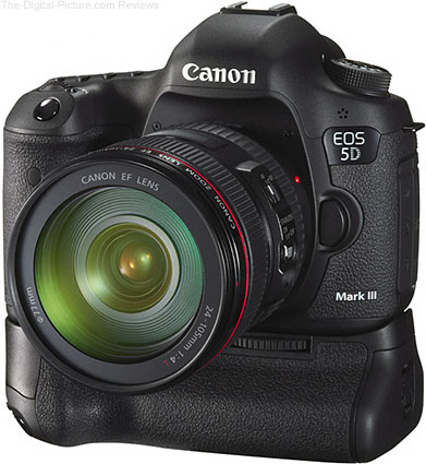 Canon EOS 5D Mark III with EF 24-105mm f/4L IS USM & BG-E11 Battery Grip