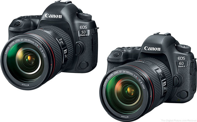 Hot Canon 5D Mark IV & 6D II with Battery Grip & Printer Deals Are Back