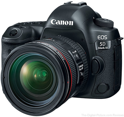 Canon EOS 5D Mark IV with EF 24-70mm f/4L IS USM Lens
