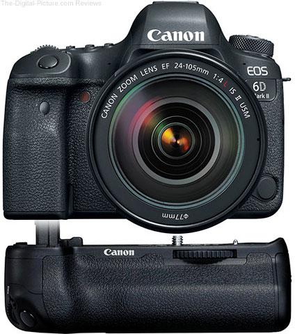 Canon EOS 6D Mark II with EF 24-105mm f/4L IS II USM and Battery Grip