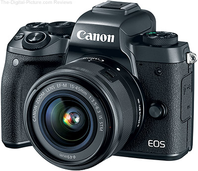 Canon EOS M5 Specs Added to Camera Specifications Tool