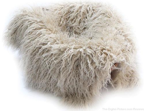 "Custom Photo Props Faux Flokati Fur Newborn Photo Prop (Blondie, 20 x 32"") - $  19.95 (Reg. $  27.95)"