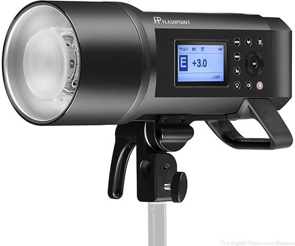 Flashpoint XPLOR 600PRO HSS Battery-Powered Monolights