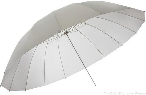 Impact 7' Parabolic Umbrella (Translucent White)