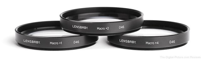 Lensbaby 46mm Macro Filter Kit