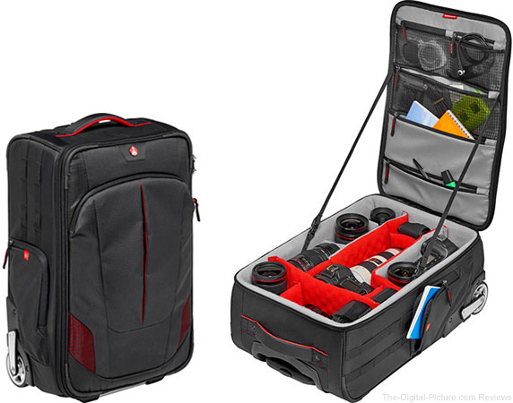 Manfrotto Presents Pro Light Reloader-55, an International Carry-on Size Photo Roller