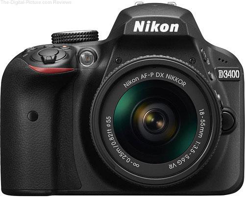 Nikon D3400 In Stock at B&H