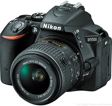 Refurb. Nikon D5500 with 18-55mm VR II Lens - $  499.00 Shipped (Compare at $  846.95 New)